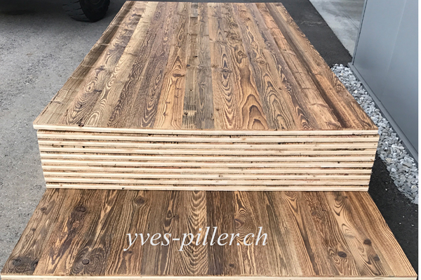 Bardage 3 plis vieux bois